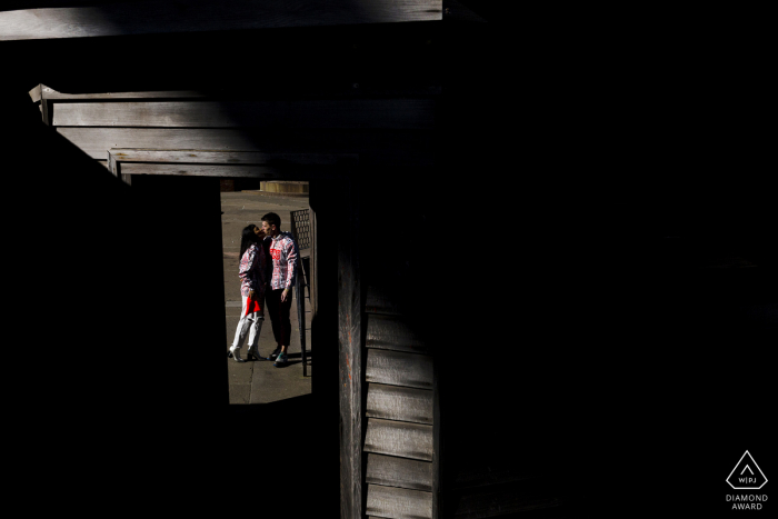 Engagement Photographer   fort point highlights