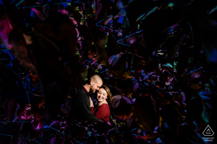 Couple Engagement Photo Session | Downtown Gettysburg PA Engagement Session
