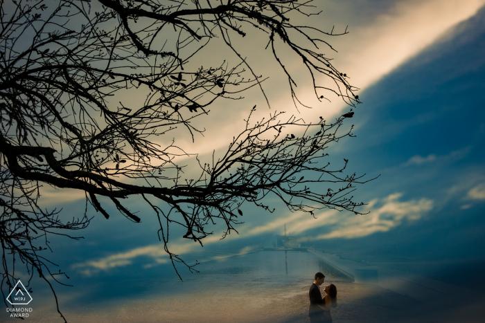 Couple Engagement Photo Session | Hermann Park, Houston, TX Engagement session