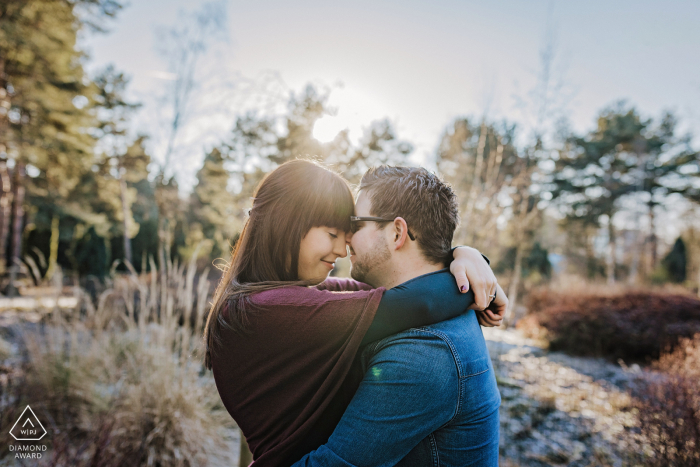 Couple Engagement Photos | Dortmund - lovebirds in January