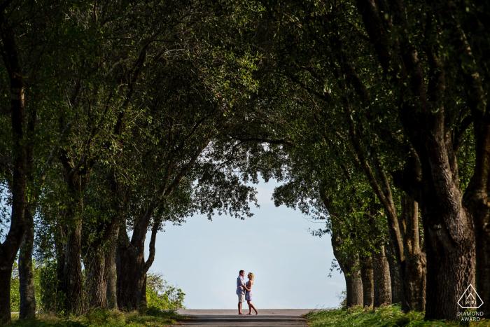 Avon Park, Florida   A fun Engagement session near central Florida Orange groves