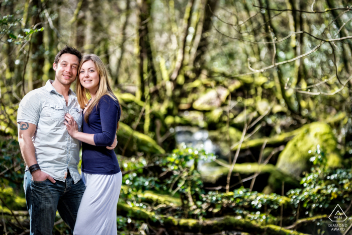 England engagement photographer in a portrait session in Plymouth