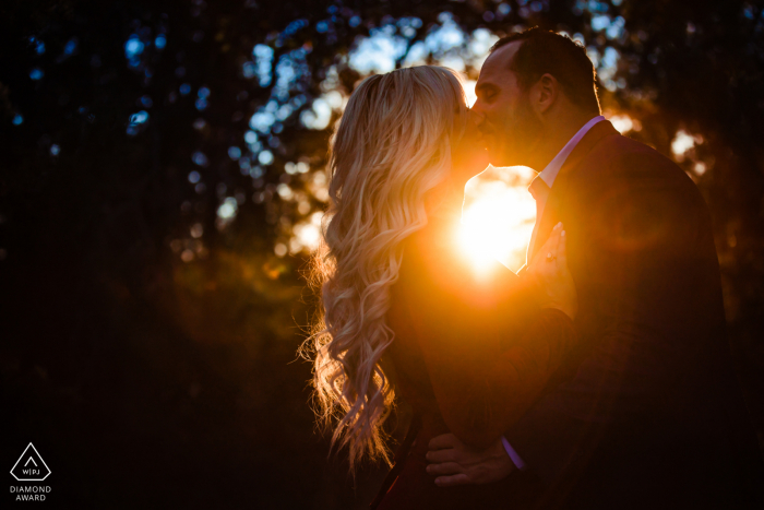 Colorado Bend State Park Adventure Engagement Session at a CO State Park