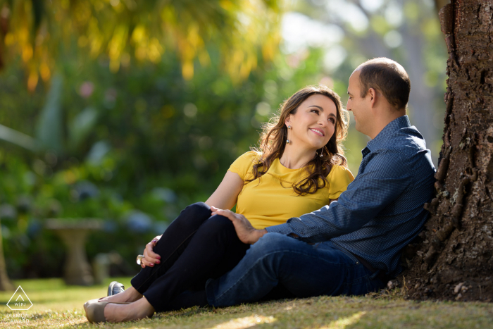 Hotel Bougainvillea Santo Domingo de Heredia on-location romantic portrait e-shoot at sunset