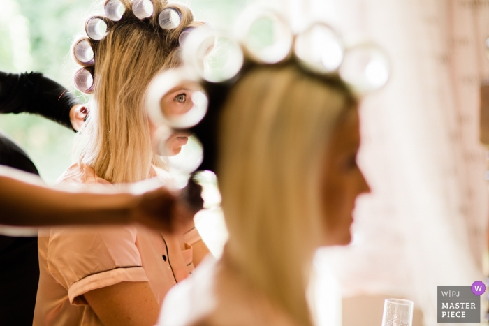 Hair Rollers and Bridesmaids | The Spread Eagle Hotel