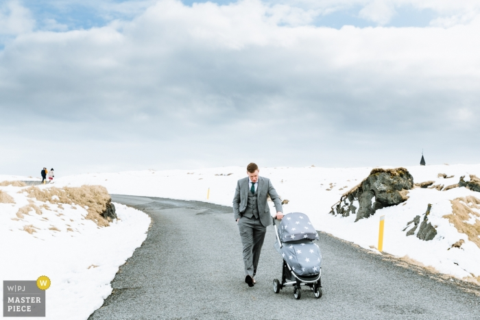 Nick Tucker, of London, is a wedding photographer for Reykjavik, Iceland