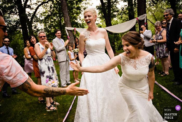 曼尼托巴省的柯蒂斯摩爾是曼尼托巴省溫尼伯的婚禮攝影師