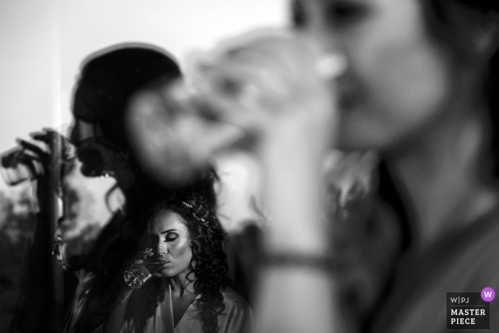 kyrenia wedding photojournalism | preperation room of the bride | kyrenia, cyprus