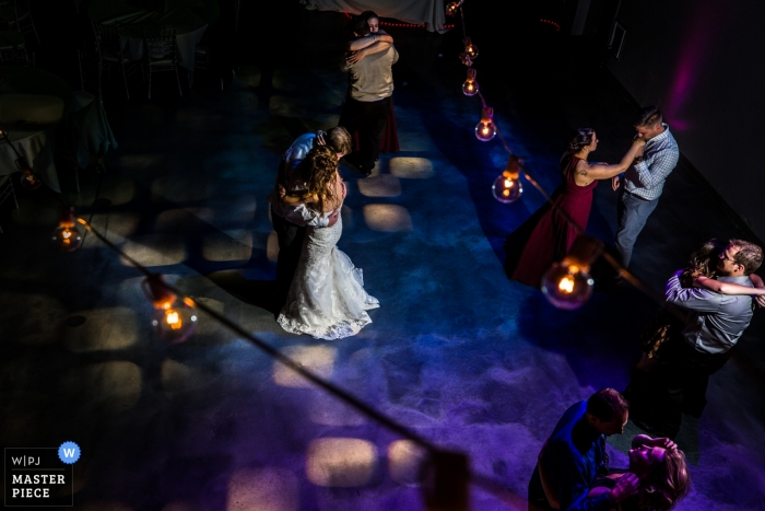 Wedding shoot with Minneapolis Couple Dancing First Dance