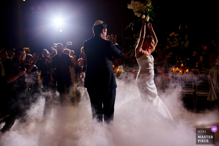 Quintana Roo wedding couple on the dance floor | Wedding Photography for Mexico