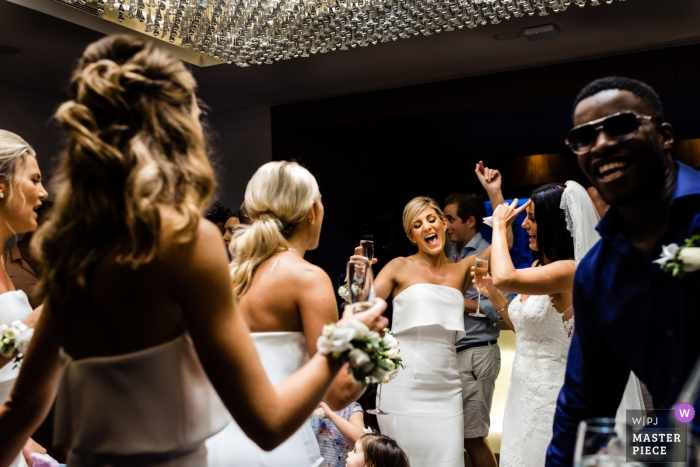 Dancing Bride at the One & Only Resort, The Palm Dubai - Wedding Photography UAE