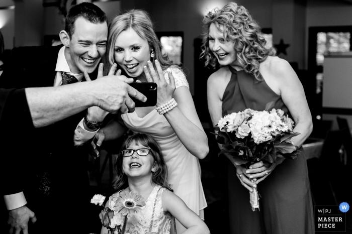 埃德蒙頓與家人的Facetime  - 艾伯塔省婚禮攝影