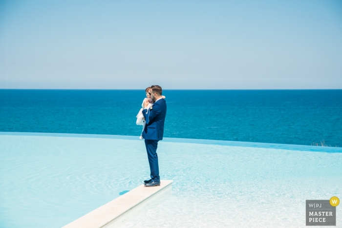 villa infinito mare, Brucoli (SR) - Photo from during the reception, nearby the pool