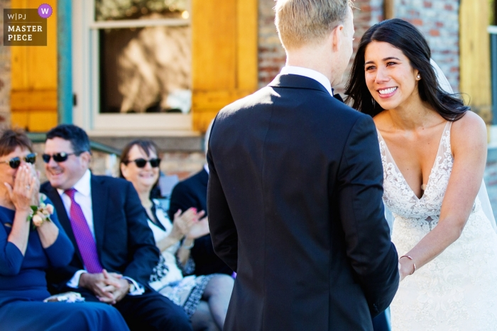 Saugerties Steamboat Company Hudson Valley NY Wedding Photograph from the Outdoor Ceremony