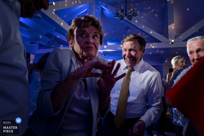 The Hyatt Florida Wedding Photography - Grandma scarred off of the dance floor...