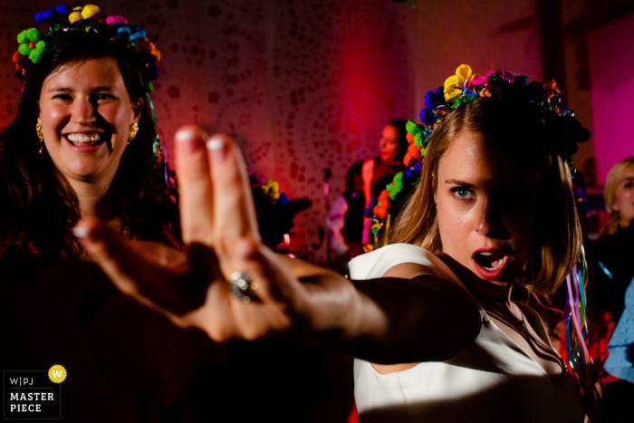 "Wedding Reception Photo at Monterey Peninsula Country Club - ""Aladdin's lamp"" Bride on the dance floor."