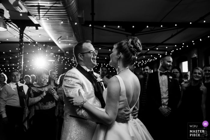Espace Canal - Montreal Photography - First dance at Espace Canal wedding reception venue in Montreal
