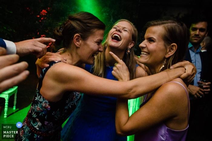 Loenhout - Jef Cools Wedding Venue Reception Photos from the Dance Floor.