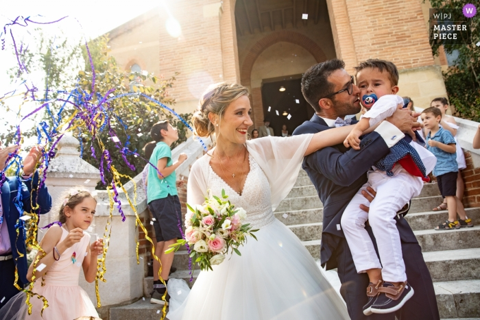 Church of SAMATAN-South of France Wedding Photographer - The happy time is not for everybody