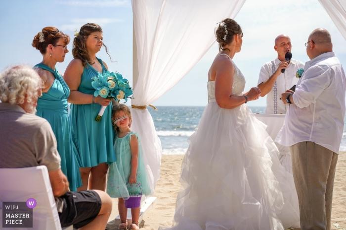 Riu Vallarta wedding ceremony on the beach. Nuevo Vallarta, Mexico photography on a very hot day for a wedding.