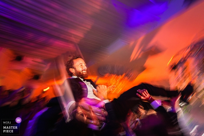 Paris Reception Photography with slow shutter speed - France wedding images