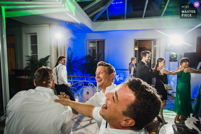 Wedding Photography at Rose Residence Zarebow - Bestmans dancing at the reception party