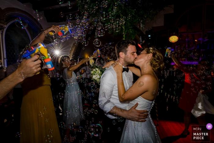 Haus Heuport Regensburg Wedding Reception Photography - The first dance