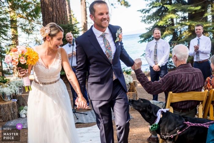 Shaunte Dittmar, of California, is a wedding photographer for -