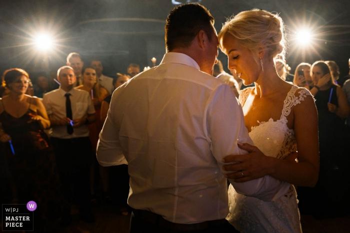 Germany Wedding Photo of Bride/Groom Dancing First Dance