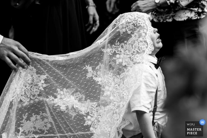 Fotografie der niederländischen Zeremonie - Kinder bei Hochzeiten