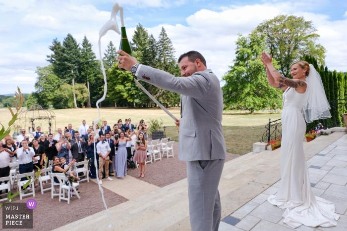 Wedding venue photographer: Château La Cazine Champaign!!!