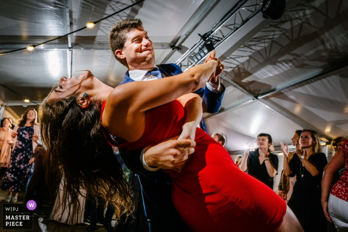 Flandria Fotografowanie miejsca tańca pary