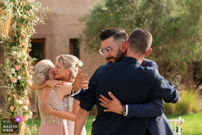 Wedding Ceremony location, Marrakech | Photography after Emotional speech