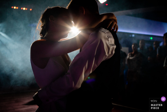 Wedding venue photographer at the Domaine de Chatillon -  Pictures from the First dance