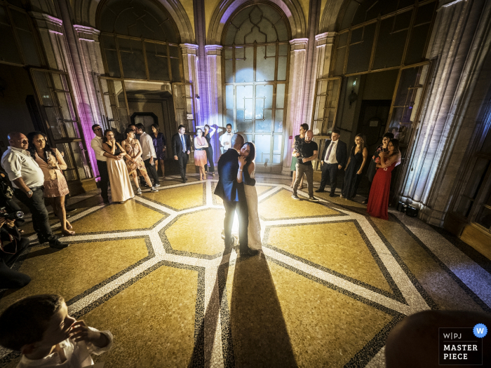 Ville Ponti wedding venue photos, Varese, Italy - First dance of the spouses