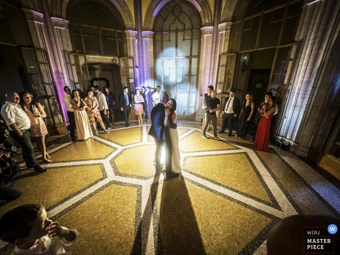 Photos du lieu du mariage de la Ville Ponti, Varese, Italie - Première danse des époux