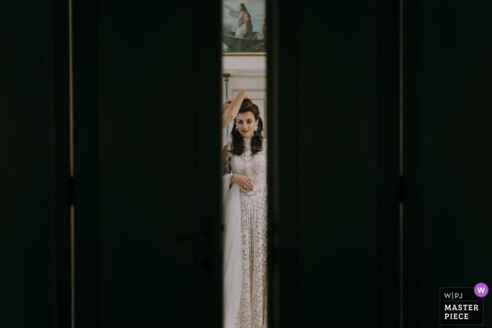 Bride Photography, Villa Corbinaia, Tuscany | With the blessing of God.