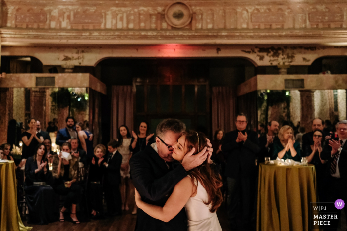 Hotel Peter and Paul, New Orleans wedding venue photos | Father daughter dance