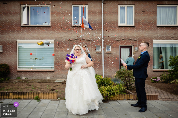 Oss wedding photography of the bride - go to the ceremony and have a party