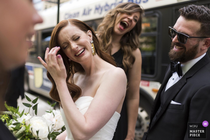 Chicago bridal party - IL wedding photography