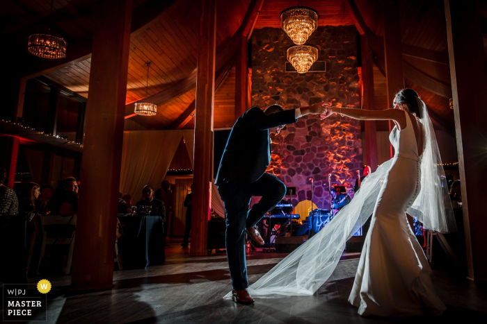 Wedding photography from the Oakbrook Bath and Tennis Club, Oakbrook, IL- daddy daughter dance