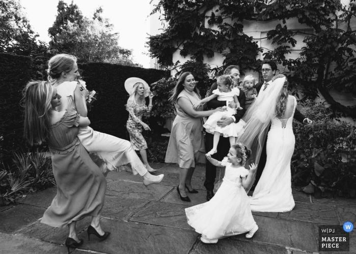 England Reception Chaos of group photos