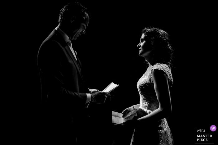 Domtoren, Utrecht, the Netherlands wedding photographer: When you only have candle light during the vows, no need for dodge or burning. Minimal post-production on this beautiful moment.