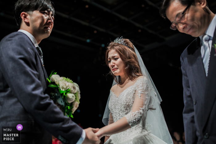 Taiwan Wedding Ceremony Image | The exchange of important seats in life
