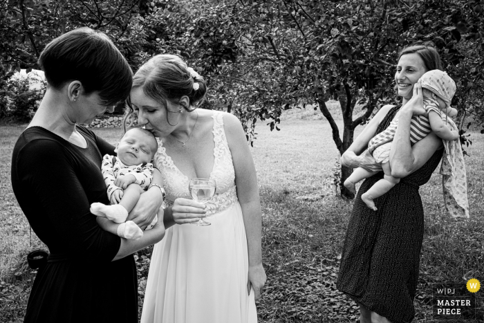Wedding photography from Samota Křemen	of the tiniest wedding guests