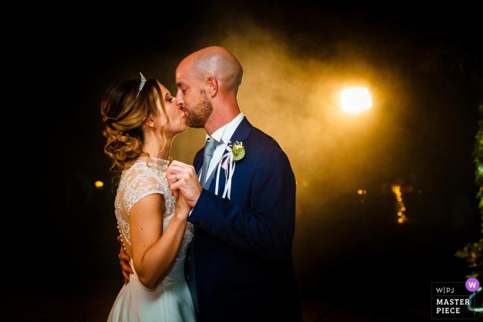 Castello Formentini, San Floriano del Collio, Gorizia, Italy wedding photography from the intimate First dance