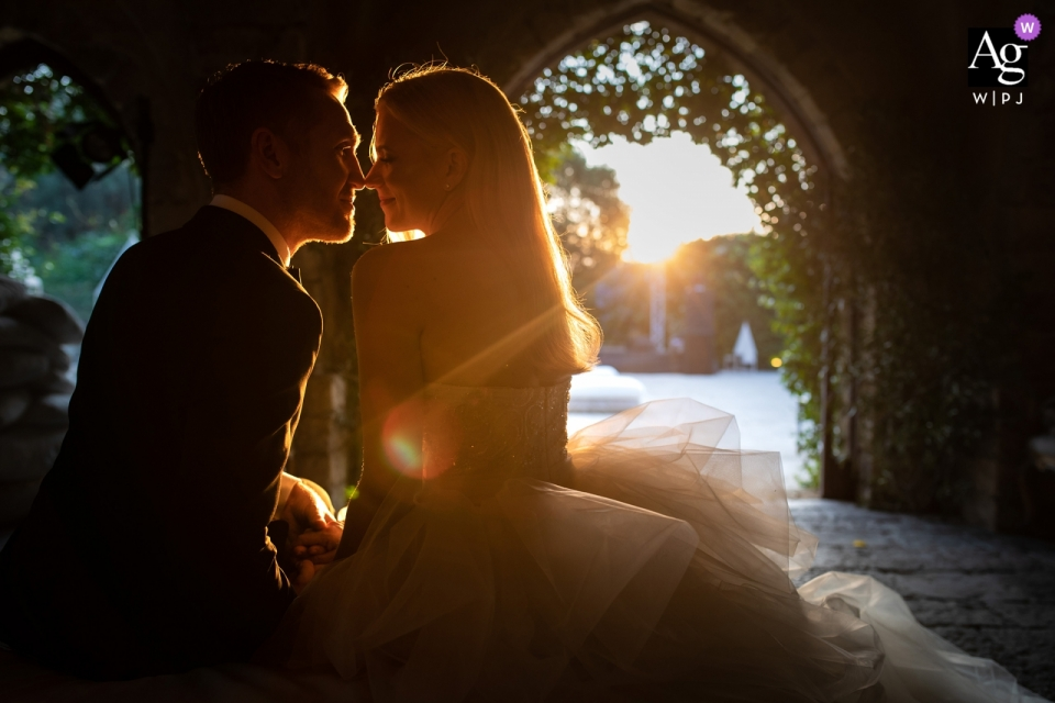 Xirumi Castle - Catania - Italy Wedding Photographer Chasing light with this couple during a portrait session
