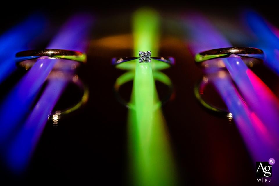 Socerb城堡,斯洛文尼亚结婚戒指的详细照片