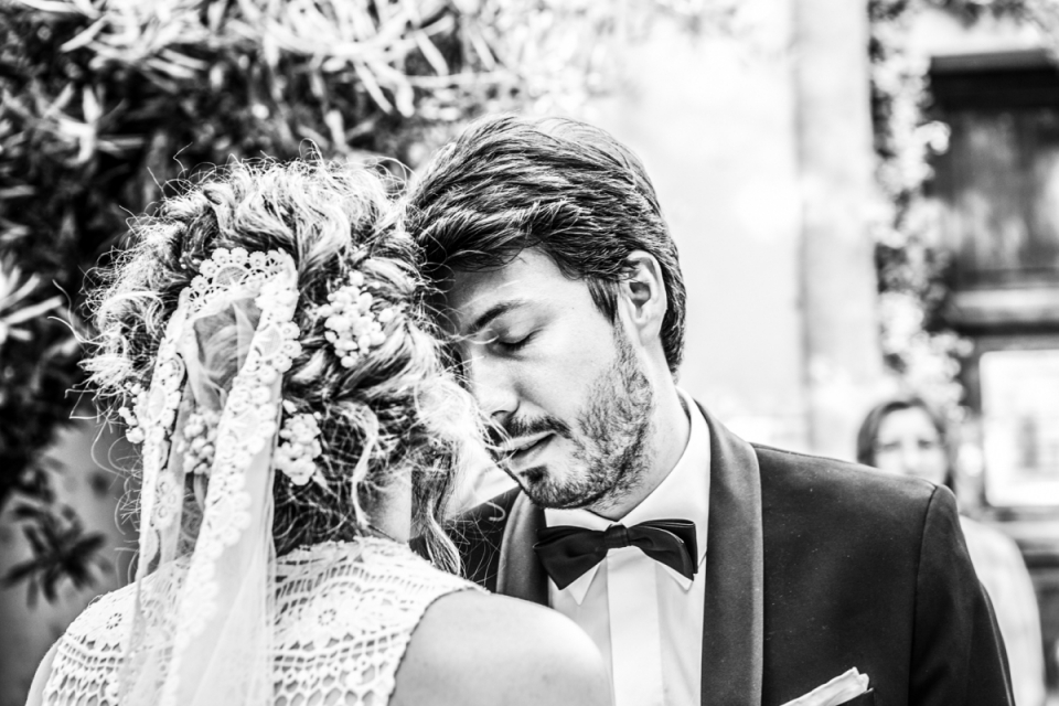 Cesena, Forlì - Cesena wedding photography in black and white