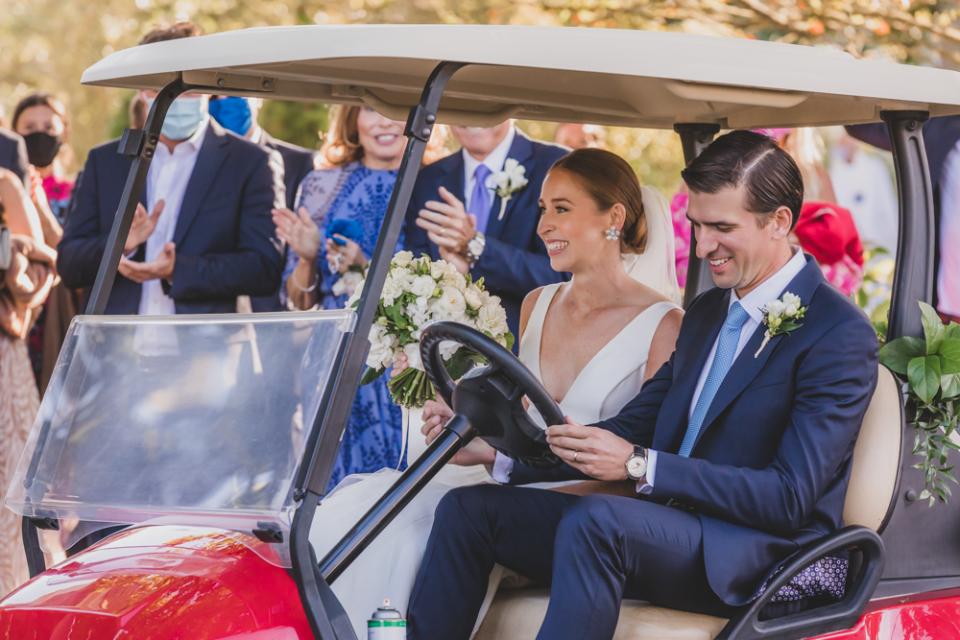 Fotografia de casamento em Massachusetts na capela Sconset